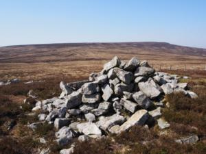 The cairn on Hagworm Hill
