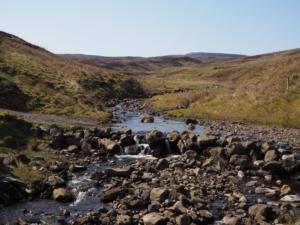 The point we forded Hargill Beck