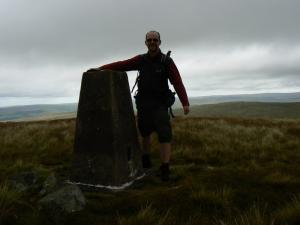 On the summit of Black Fell
