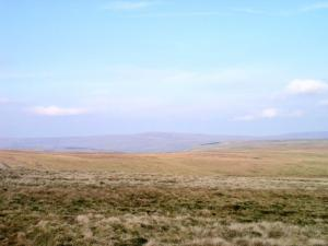 The view from Middle Rigg towards Grey Nag