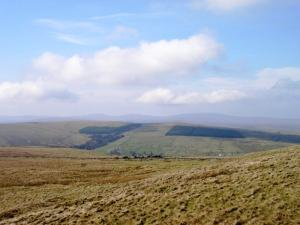 Flinty Fell, Cross Fell and Dun Fells