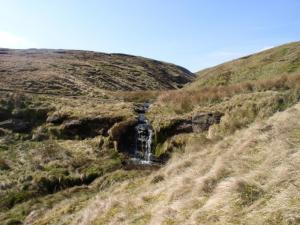 The waterfall in Alston Cleugh