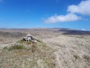 The summit of Long Fell