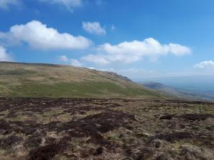 Looking back at Long Fell