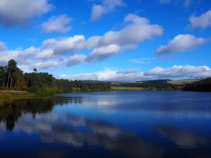 Reflections on Tunstall Reservoir